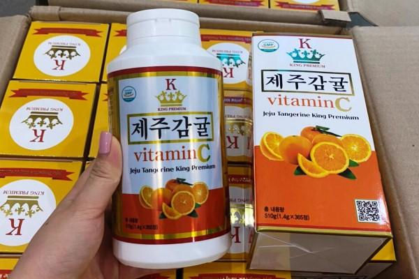 Vitamin C Jeju Hàn Quốc mẫu mới