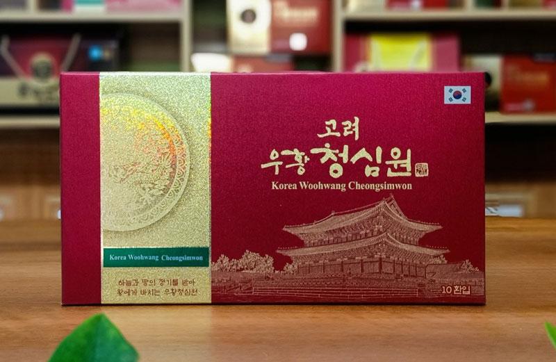 An Cung Ngưu Hoàng Thanh Tâm Hàn Quốc - Korea Woohwang Chung Sim Won