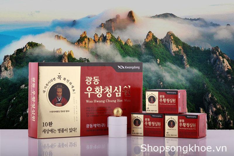 An cung Hàn Quốc Vũ Hoàng Thanh Tâm dạng viên hoàn