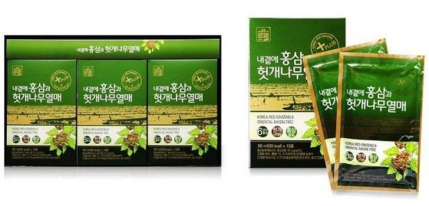 Nước hồng sâm bổ gan Daedong Hàn Quốc