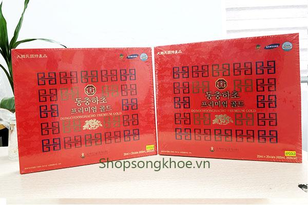 Nước Đông Trùng Linh Chi Hàn Quốc hộp đỏ