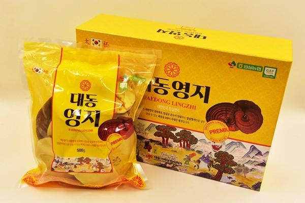 Nấm linh chi Hàn Quốc cao cấp - Nấm Linh Chi Imsil Hàn Quốc túi 500gram