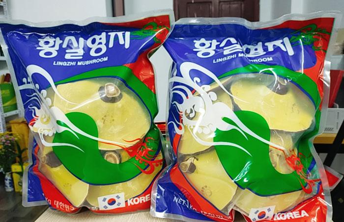 Nấm Linh Chi đỏ túi xanh Hàn Quốc - túi 1kg