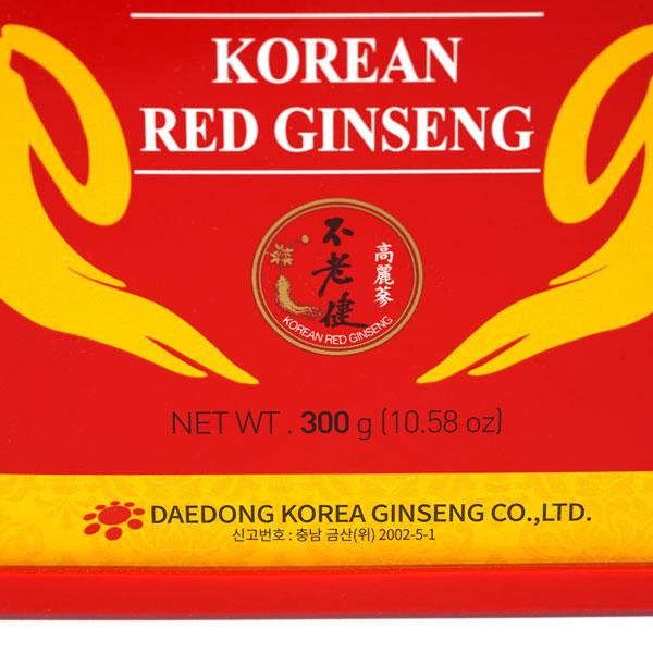 Hồng sâm củ khô Hàn Quốc Daedong hộp 300gr premium