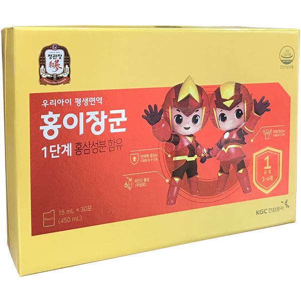 Nước hồng sâm Baby KGC Cheong Kwan Jang hộp 30 gói x 15ml
