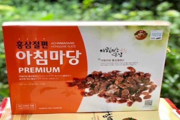 Hồng Sâm Thái Lát Thẩm Mật Ong Achimmadang Premium 200G Hàn Quốc