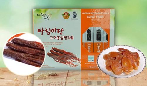 Hồng sâm tẩm mật ong Korean Red Ginseng Gold 8 củ