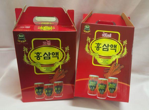 Hồng sâm lon Hàn Quốc, tăng cường sinh lực