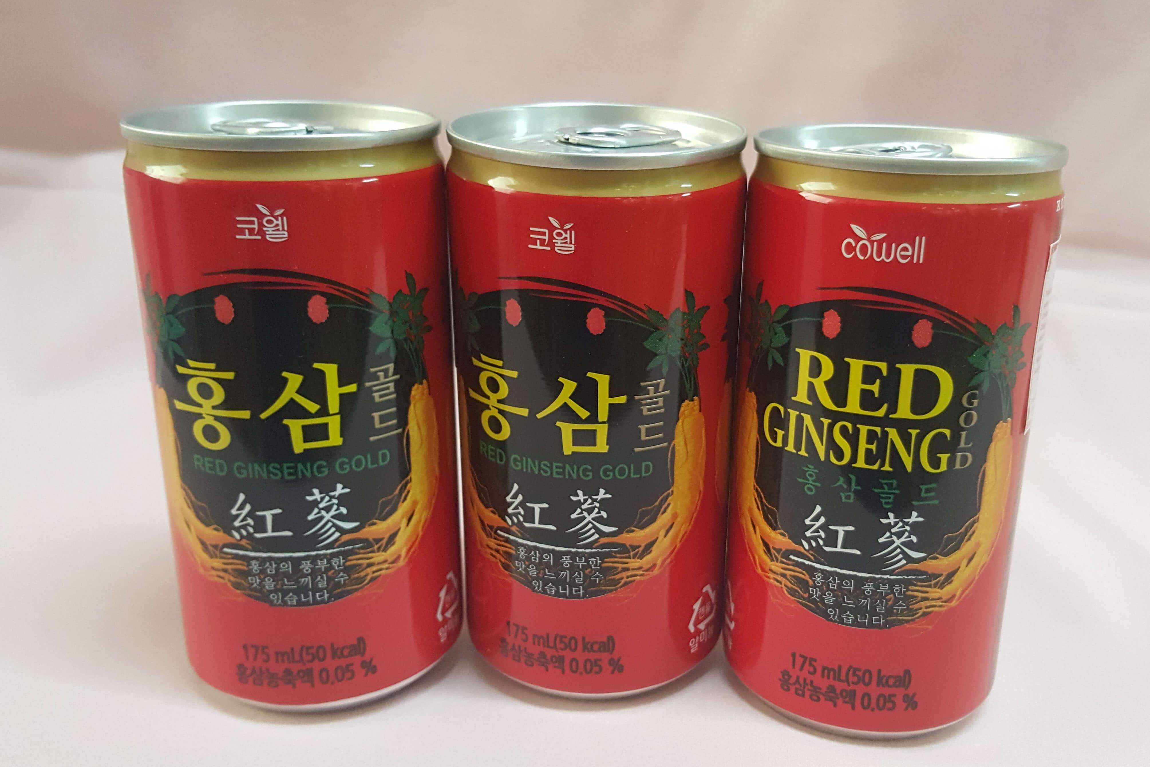 Hồng sâm lon Hàn Quốc Red Ginseng