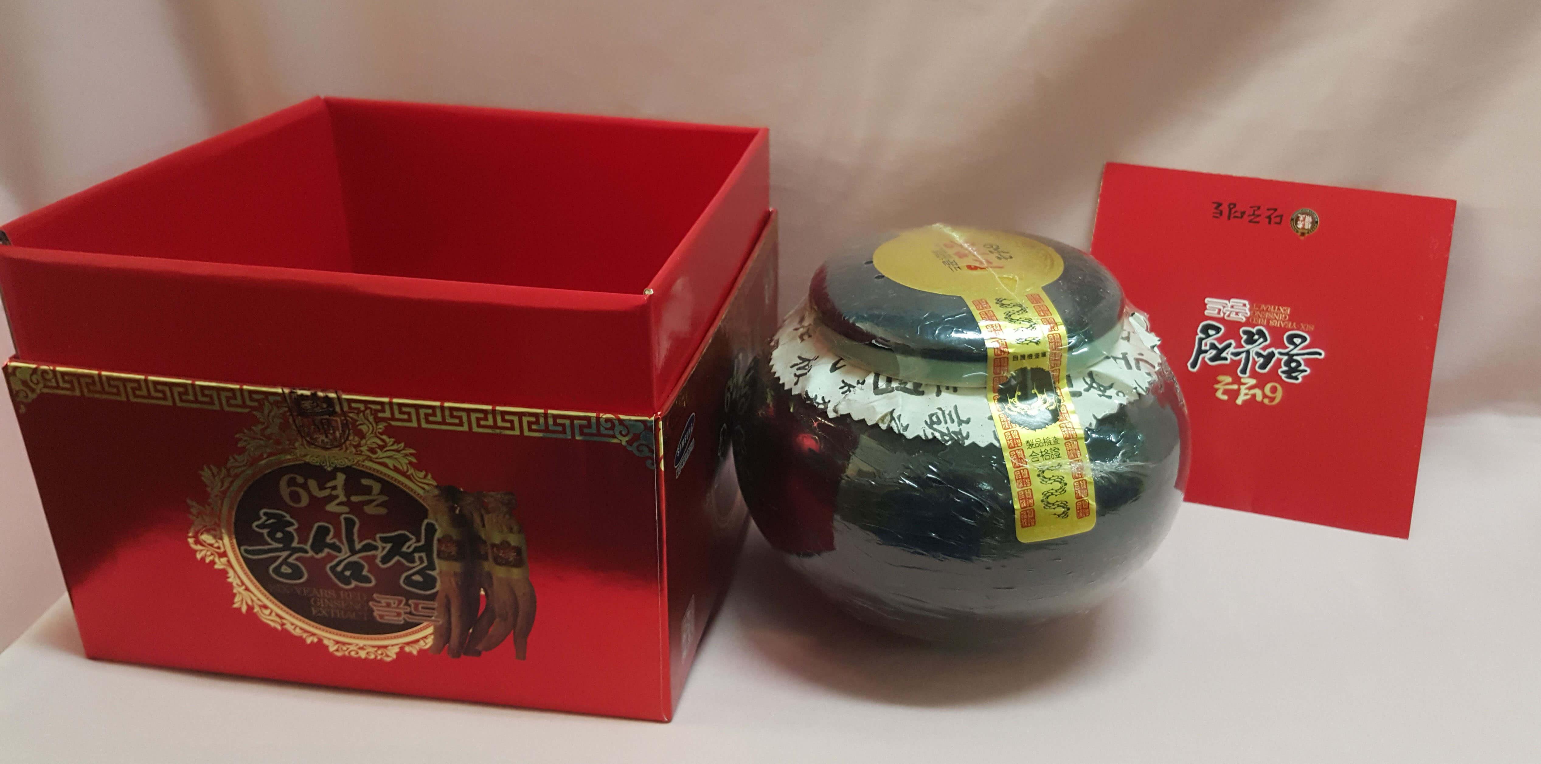 Cao Hồng Sâm Hàn Quốc hộp sứ xanh 1kg