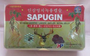 Sâm nhung linh chi Sapugin
