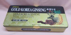 Sâm nhung Linh Chi Gold Korea Ginseng
