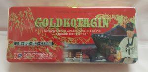 Sâm nhung Linh Chi GoldKotagin hộp đỏ