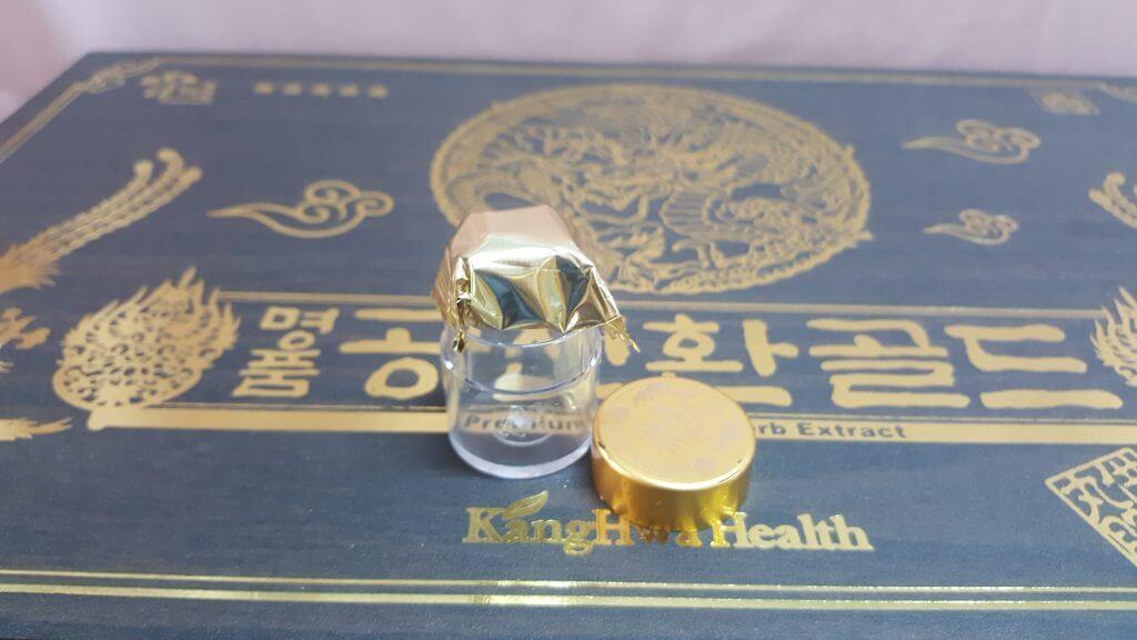 Đông trùng Hạ thảo hộp gỗ 60 viên Hàn Quốc