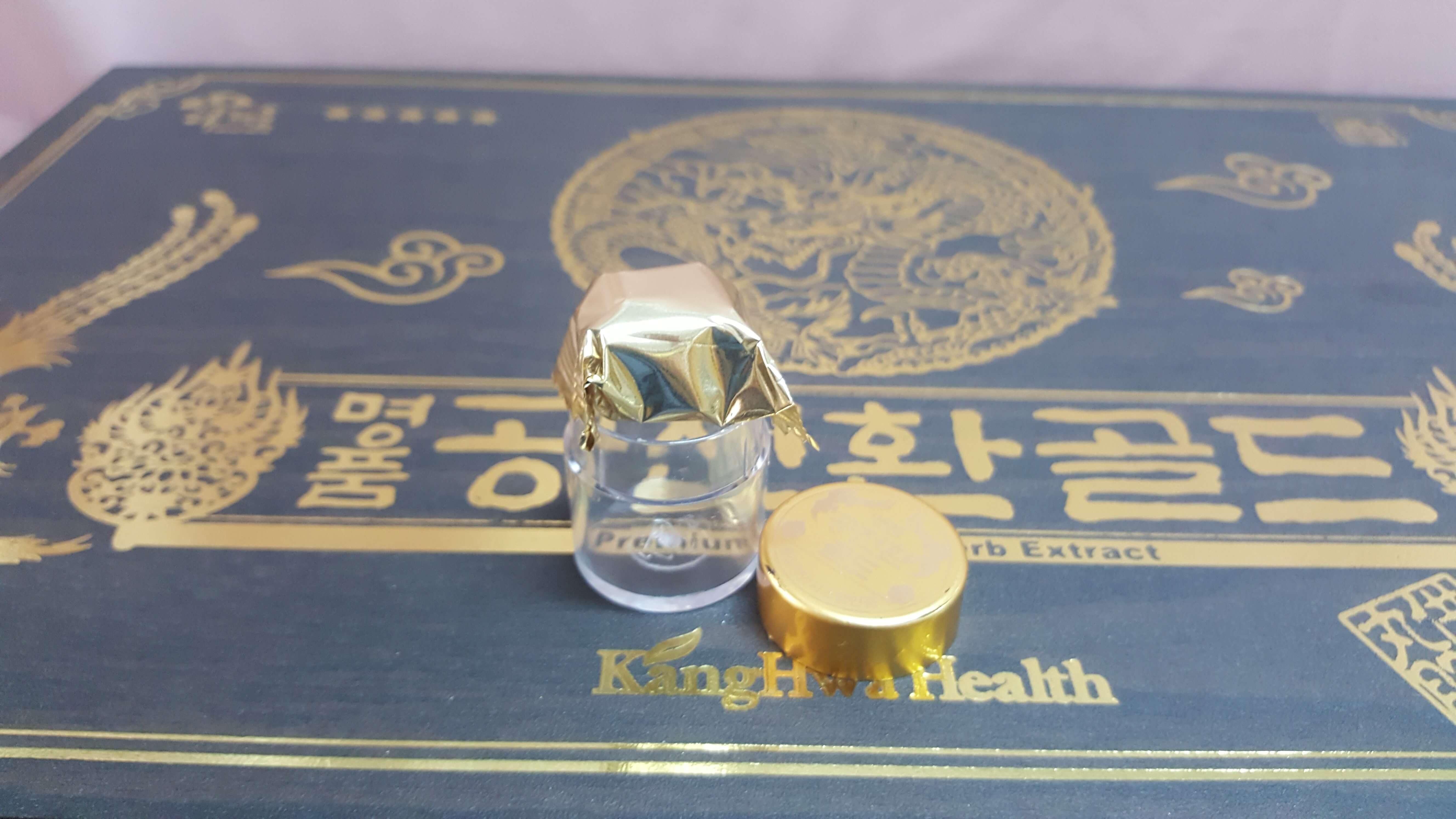 Đông trùng Hạ thảo hộp gỗ 30 viên Hàn Quốc