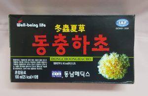 Nước uống Đông trùng Hạ thảo Hàn Quốc