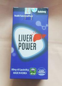 Bổ gan tiêu độc Liver Power