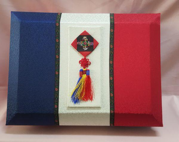 Quà biếu cao cấp, hộp quà biếu Nấm Linh Chi Hàn Quốc 3 sọc