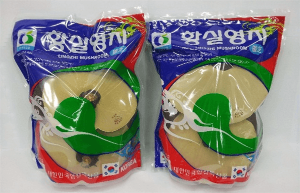 Nấm Linh Chi đỏ túi xanh Hàn Quốc