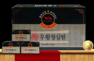 An Cung Ngưu Hoàng Hoàn Hàn Quốc – Hộp Màu xanh thẫm