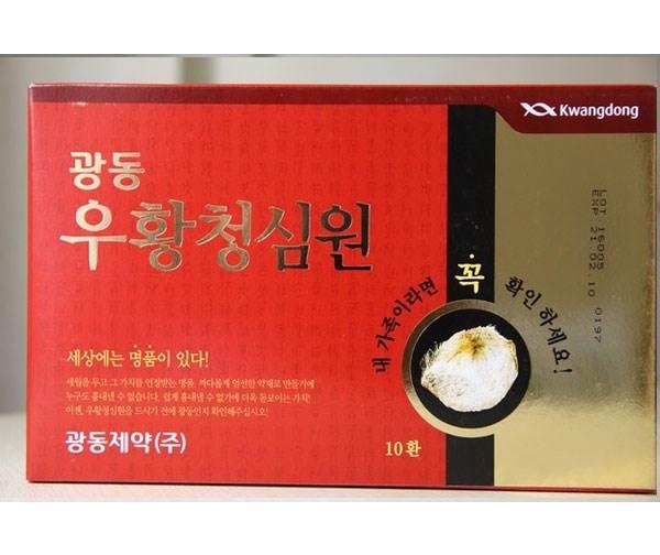 Hướng dẫn sử dụng An cung ngưu Hoàng Hàn Quốc