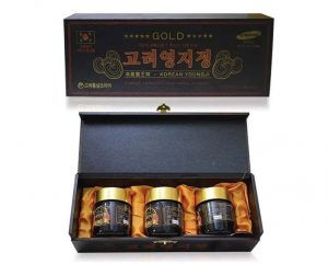 Cao Linh Chi Hàn Quốc nhiều loại – Cao Linh Chi đỏ