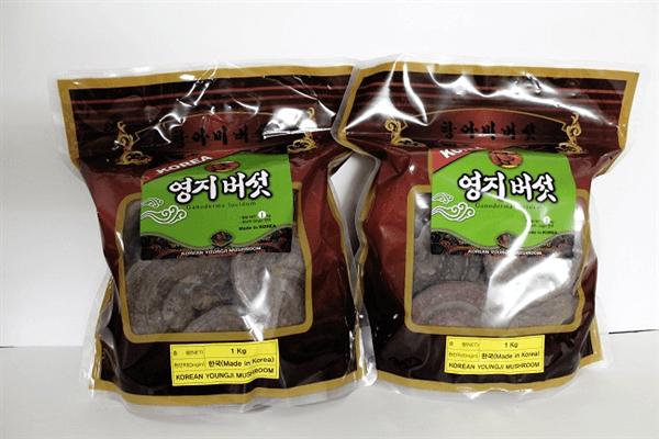 Nấm Linh Chi Núi đá Hàn Quốc