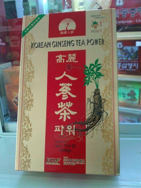 Trà sâm hiệu con cò Hàn Quốc