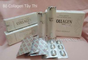 Bộ sản phẩm dưỡng da Collagen Tây Thi