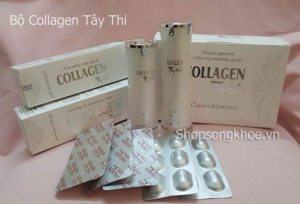 Bộ Collagen Tây Thi – Cho làn da đẹp, láng mịn, sạch nám, tàn nhang
