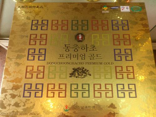 Đông trùng hạ thảo dạng ống Hàn Quốc