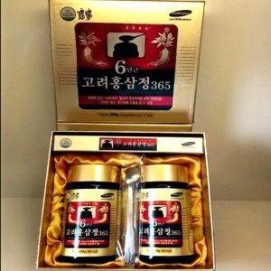 Cao Hồng Sâm Hàn Quốc 365- Đóng hộp 2 lọ 240gr