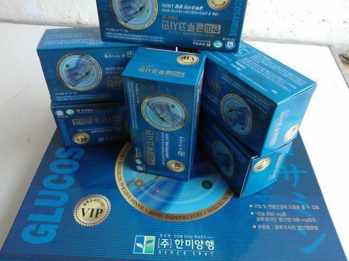 Viên uống bổ khớp - Glucosamin 100VIP HANMI Hàn Quốc