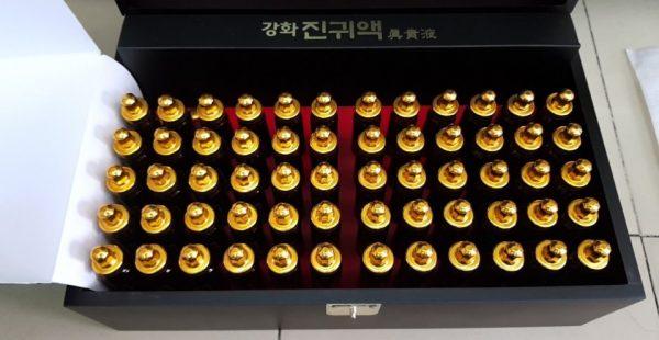 Tinh Chất Đông Trùng Hạ Thảo KwangDong Hàn Quốc hộp 60 ống