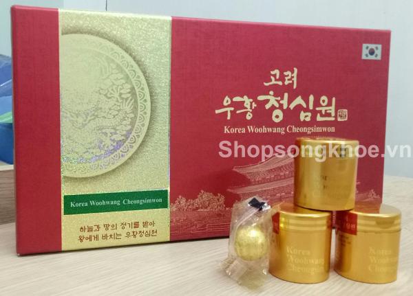 An cung ngưu hoàng thanh tâm Hàn Quốc Korea Woohwang Cheong Sim Won