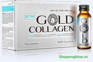 Gold Collagen Active – Nước uống bổ sung Collagen cho tuổi trẻ năng động