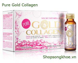 Gold Collagen Pure – Nước uống bổ sung Collagen cho vẻ đẹp quyến rũ