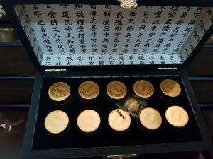 An Cung Ngưu Hoàng Hàn Quốc hộp gỗ 10v