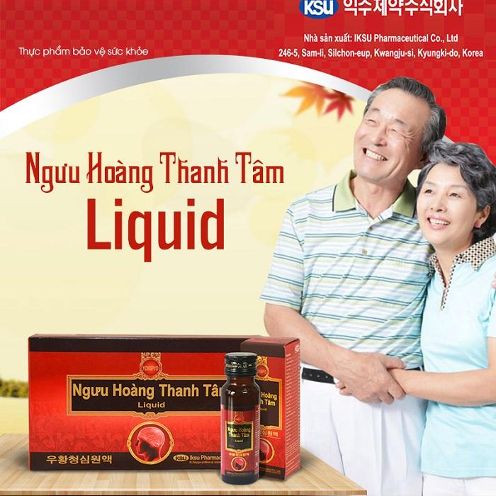 Ngưu Hoàng Thanh Tâm LiQuid - An cung dạng nước