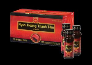 Ngưu Hoàng Thanh Tâm LiQuid – An cung dạng nước