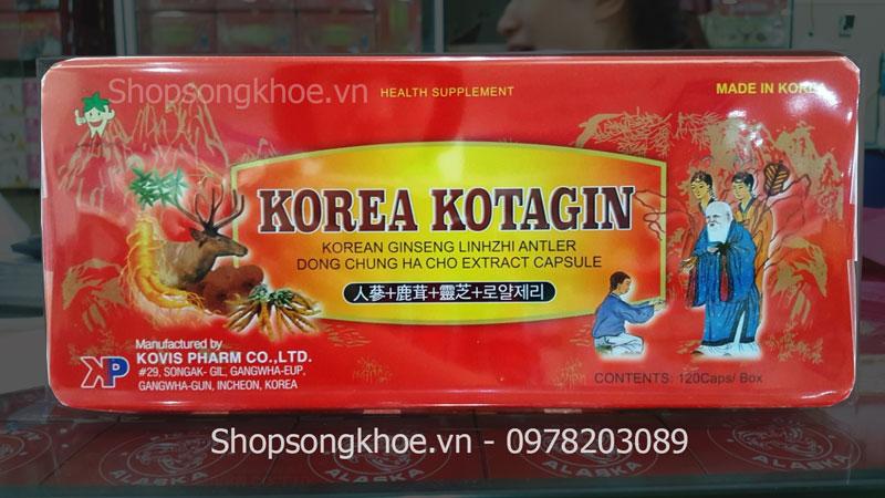 Sâm Nhung Linh Chi Korea Kotagin