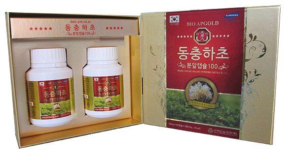 Viên đông trùng hạ thảo Hàn Quốc hộp 120 viên
