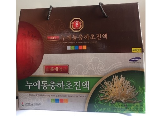 Nước Đông Trùng Hạ Thảo Nhân Sâm hộp 30 gói