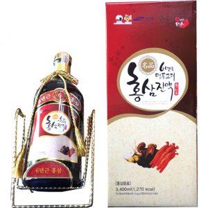 Nước hồng sâm linh chi táo đỏ chai 3,4 lít Hanil