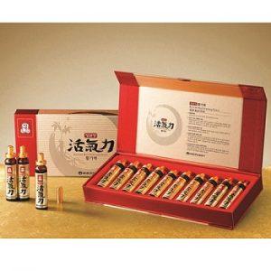 Nước Hồng sâm tăng lực Vital Tonic KGC hộp 10 ống Cheong Kwan Jang