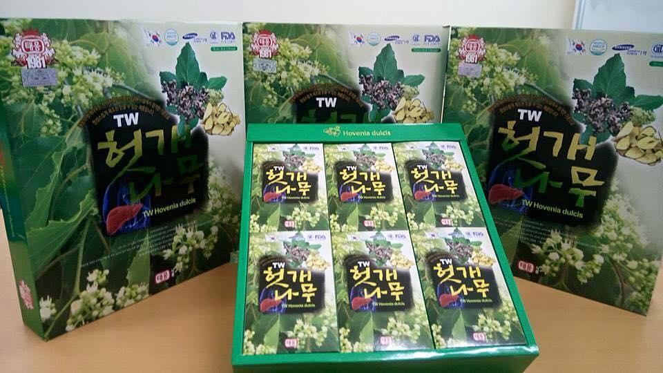Bổ Gan giải riệu Hàn Quốc TW