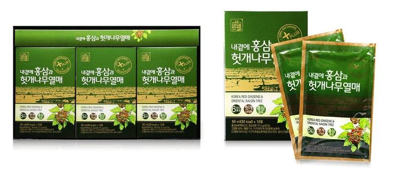 Nước Hồng Sâm Bổ Gan Hàn Quốc Oriental Raisin Tree - nước mát gan Hàn Quốc