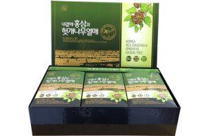 Nước Bổ Gan Giải Rượu Hồng Sâm Hovenia Daedong Hàn Quốc