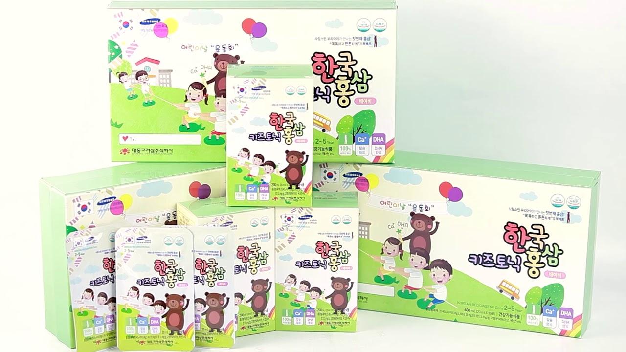 Nước Hồng Sâm Baby Daedong Cho Bé 2 - 5 Tuổi