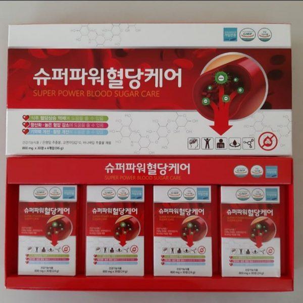 Viên Uống Hỗ Trợ Điều Trị Tiểu Đường Hàn Quốc Hộp 120 Viên